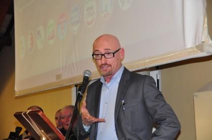 Sala piena per ascoltare il candidato del centro destra Daniele Sanchioni