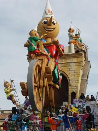 Il programma del Carnevale di Fano di domenica 23 febbraio