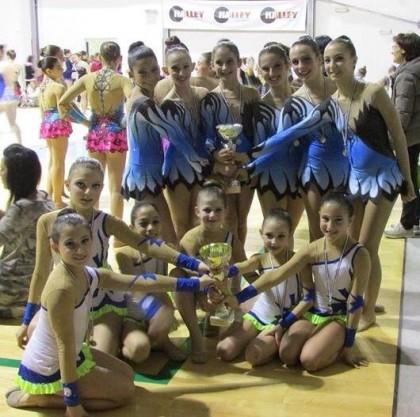 Ginnastica: doppia vittoria per le ragazze dell'Olympia Cuccurano