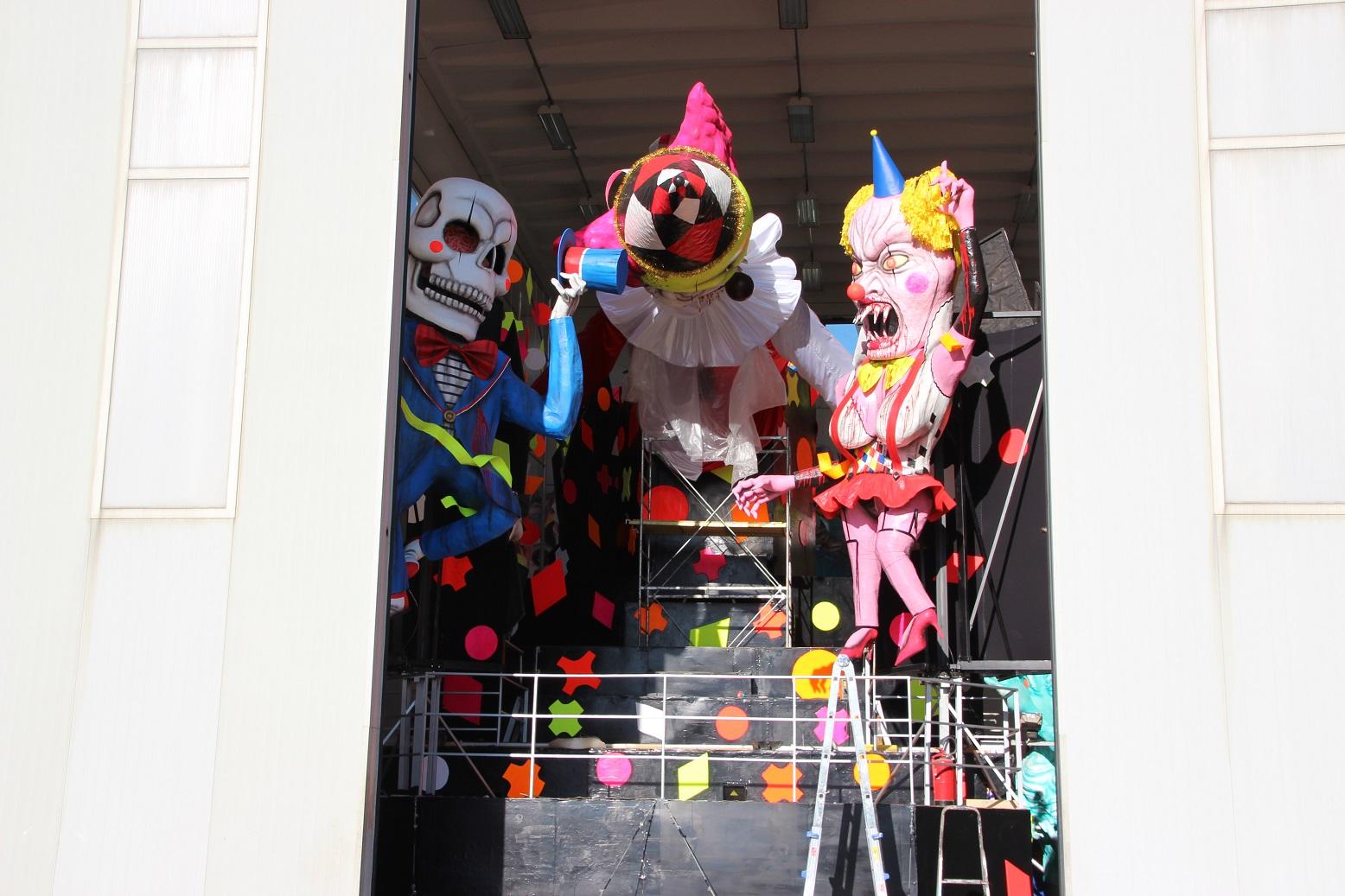 anteprima del carro Horror Carnival Party