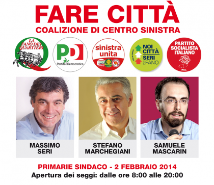 Primarie Fano, dai votanti raccolti quasi 4mila euro