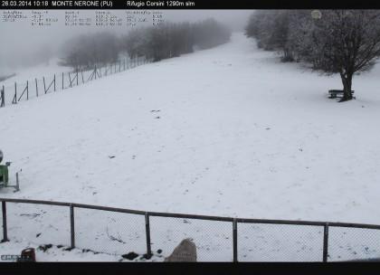 Maltempo: mareggiate, forte vento e neve in montagna