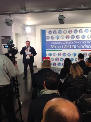 """""""La scelta giusta per Fano"""" è il nome della coalizione che candida a sindaco Mirco Carloni"""