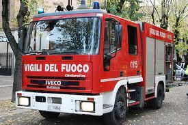 A fuoco Silos in una fabbrica a Talacchio