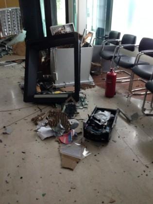 Esplosione nella notte alla Bcc di Fenile di Fano. Rubati 30mila euro (Guarda FOTO – VIDEO)
