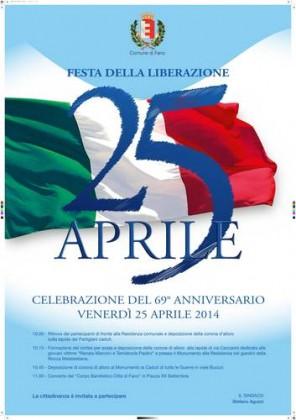 Fano celebra l'anniversario della Liberazione