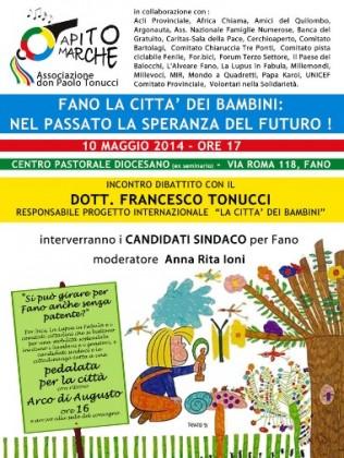Fano la città dei bambini, dibattito con Tonucci