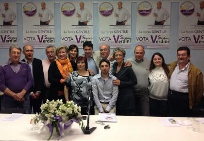 """Cartoceto: Verdini presenta i candidati e il programma della lista civica """"Uniti per Rinascere"""""""