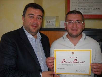 Maltempo: un encomio al dipendente provinciale Damiano Bartocetti
