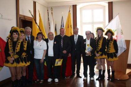 """L'Ente Carnevalesca ha fatto visita  al Carnevale """"gemello"""" di Rastatt"""