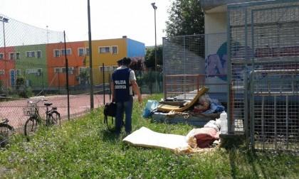 Sgomberato un gruppo di nomadi che stazionava nel centro commerciale San Lazzaro a Fano