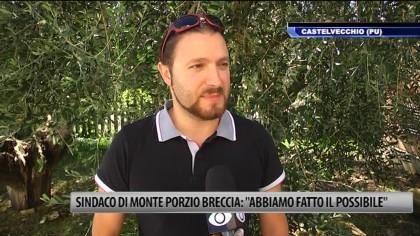 """Il Sindaco di Monte Porzio Breccia: """"Abbiamo fatto il possibile"""" – VIDEO"""