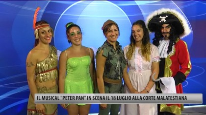 "Il Musical ""Peter Pan"" in scena  il 18 alla Corte Malatestiana – VIDEO"