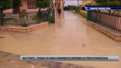 Nubifragio, chiesto lo stato d'emergenza alla Regione Marche – VIDEO
