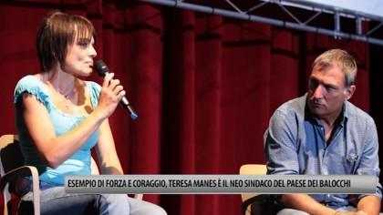 """Esempio di energia vitale, Teresa Manes è il neo Sindaco del """"Paese dei Balocchi"""" VIDEO"""