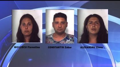 Arrestati a Fano tre romeni per furto ai danni di un anziano – VIDEO