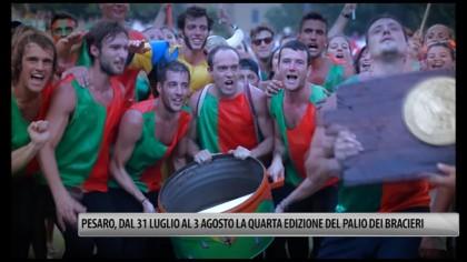 Pesaro, dal 31 luglio al 3 agosto la quarta edizione del Palio Dei Bracieri – VIDEO