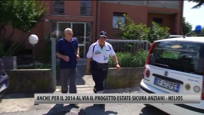 """Anche per il 2014 al via il progetto """"Estate Sicura Anziani – Helios"""" – VIDEO"""