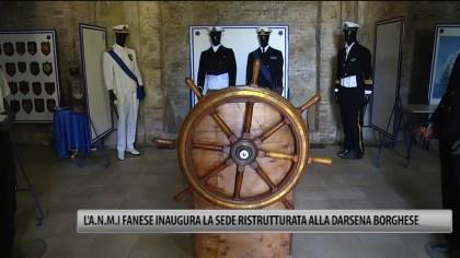 L'A.N.M.I. fanese inaugura la sede ristrutturata alla Darsena Borghese – VIDEO