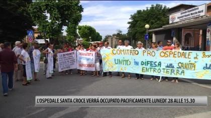 L'Ospedale Santa Croce verrà occupato pacificamente lunedì 28 alle 15.30 – VIDEO