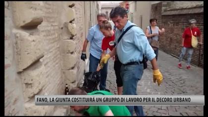 Fano, la Giunta costituirà un gruppo di lavoro per il decoro urbano – VIDEO