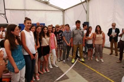 Pesaro, la carica dei 111, premiati gli studenti delle scuole medie