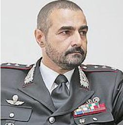 Marco Filoni Comandante dell'Arma dei Carabinieri di Pesaro e Urbino