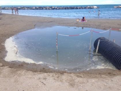 Revocato il divieto di balneazione in prossimità dei fossi scolmatori
