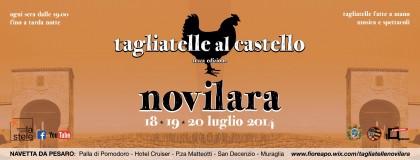 """Eventi, """"Tagliatelle al Castello"""" dal 18 al 20 luglio a Novilara – VIDEO"""