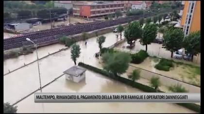 Maltempo, rimandato il pagamento della Tari per gli alluvionati – VIDEO