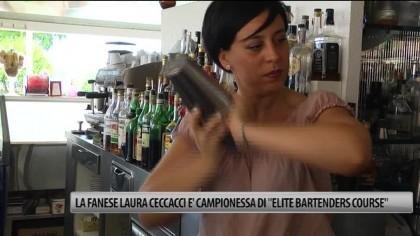 """La Fanese Laura Ceccacci è campionessa di """"Elite Bartenders Course"""" – VIDEO"""
