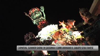 Carnival Summer Show: in Sassonia i carri animano il sabato sera – VIDEO