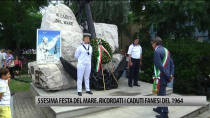 55esima Festa del Mare. Ricordati i caduti fanesi del 1964 – VIDEO