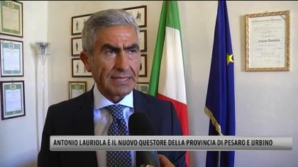 Antonio Lauriola è il nuovo Questore della Provincia di Pesaro e Urbino – VIDEO