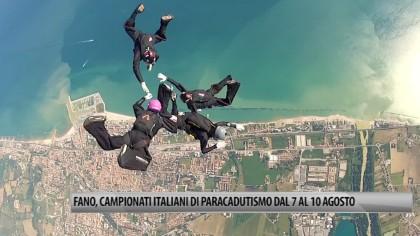 Fano, Campionati Italiani di Paracadutismo dal 7 al 10 agosto – VIDEO