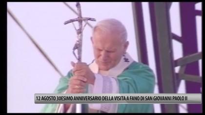 Fano, il 12 agosto 30esimo anniversario della visita di San Giovanni Paolo II – VIDEO