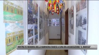 """Mostra in memoria della marineria fanese a cura dell'associazione """"Il Ridosso"""" – VIDEO"""