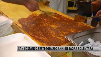 San Costanzo festeggia 200 anni di Sagra Polentara – VIDEO