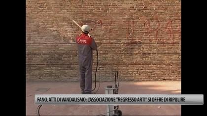 "Atti di vandalismo: l'associazione ""Regresso Arti"" si offre di ripulire – VIDEO"