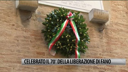 70° anniversario della Festa della Liberazione di Fano – VIDEO