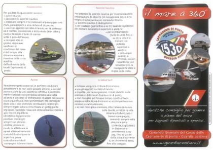 I consigli della Guardia Costiera di Pesaro per bagnanti diportisti e sportivi