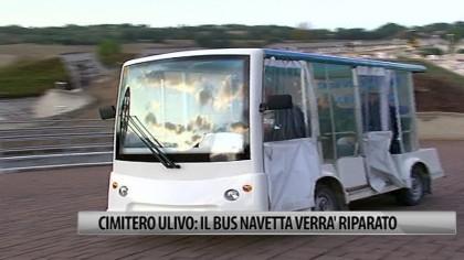 Cimitero Ulivo: il bus navetta verrà riparato – VIDEO