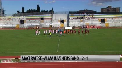 Maceratese – Alma Juventus Fano 2-1  – VIDEO