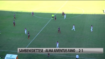 Alma sconfitta a San Benedetto  2 a 1 – VIDEO