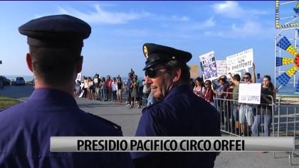 Presidio pacifico Circo Orfei – VIDEO