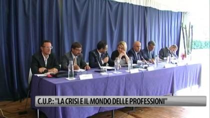 """C.U.P.: """"La crisi e il mondo delle professioni"""" – VIDEO"""