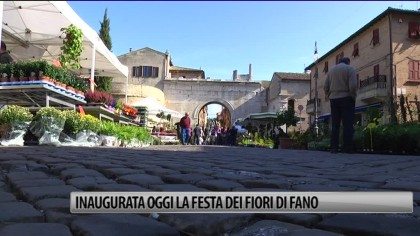 Fano, inaugurata la Festa dei Fiori  – VIDEO