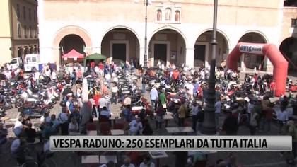 Vespa Raduno: 250 esemplari da tutta Italia – VIDEO