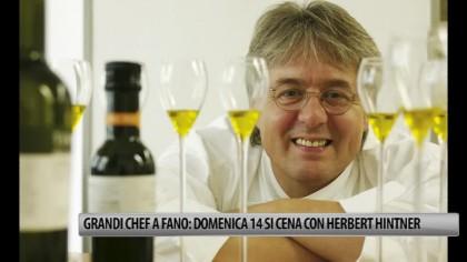 Grandi Chef a Fano: domenica 14 arriva Herbert Hintner – VIDEO