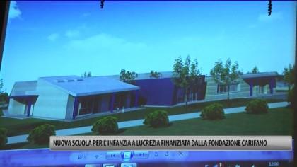 Lucrezia, nuova scuola materna finanziata dalla Fondazione Carifano – VIDEO